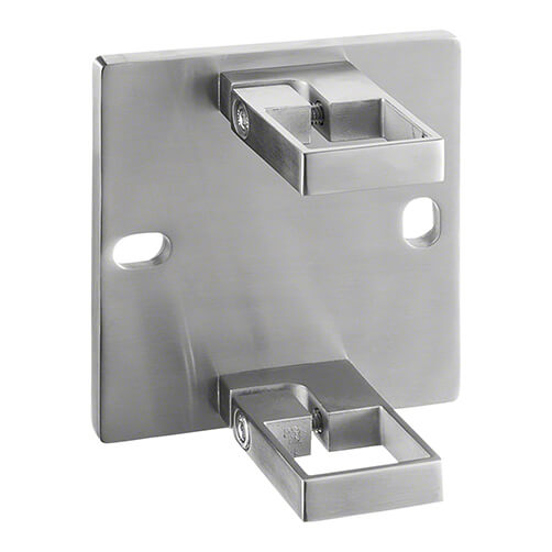 Square Wall Mount Baluster Bracket - Stainless Steel