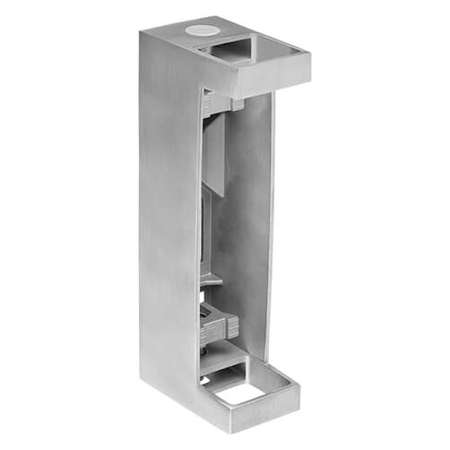 Stainless Steel Easy Fix Square Post Bracket