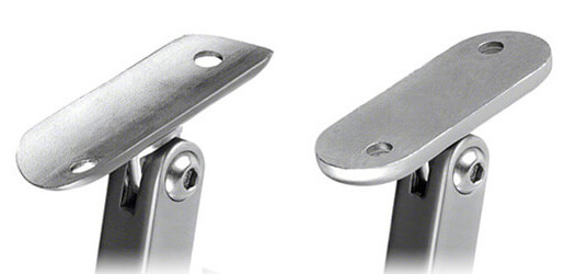 Square Adjustable Handrail Brackets