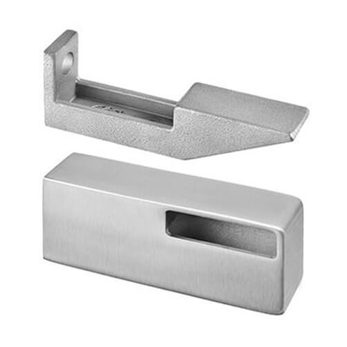 Stainless Steel Flat Profile Handrail Bracket