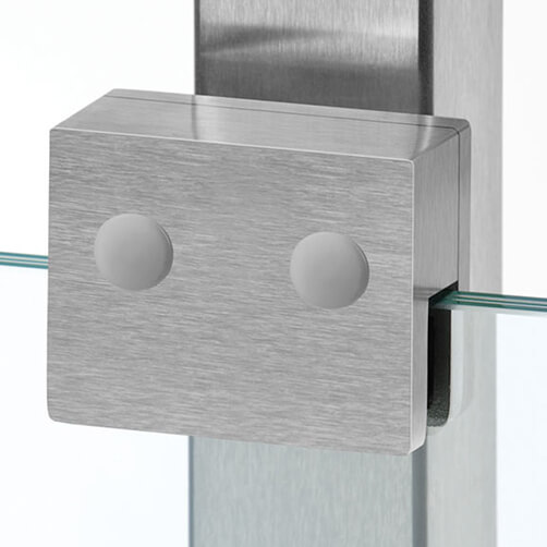 Glass Clamp - Square - In Situ Example