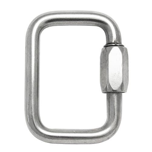 Stainless Steel Square Quick Link - Unstamped