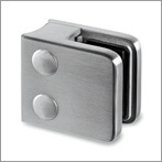 Square Stainless Steel Glass Clamps