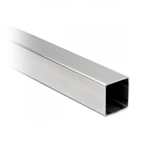 Square Stainless Steel Tube - 8 x 8mm Profile