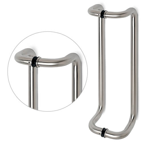 Stainless Steel Handle For Glass Door - Model 52