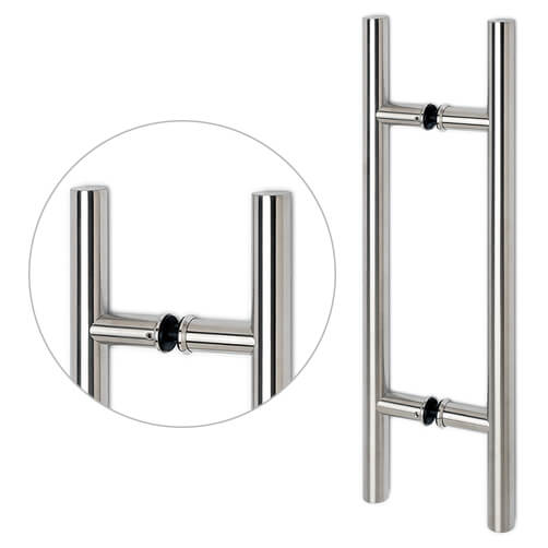 Stainless Steel Handle For Glass Door - Model 53