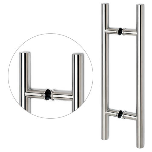 Stainless Steel Handle For Glass Door - Model 54