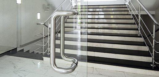 Stainless Steel Glass Door Handles