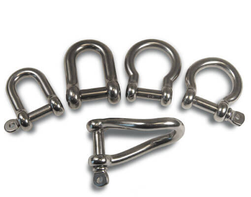 Value Shackles - Stainless Steel
