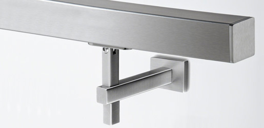 Ready Made Stainless Steel Square Handrail