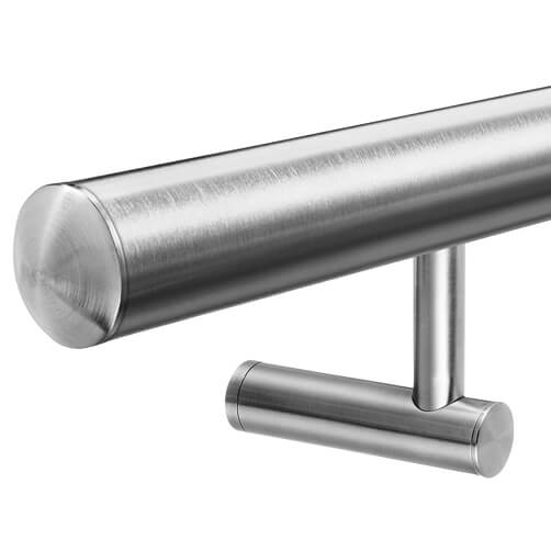 Stainless Steel Handrail with Invisible Fix Bracket