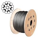 1x19 Stainless Steel Wire Rope Reels