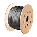 6mm 1x19 Wire Rope (100m Reel) Stainless Steel 316 Marine Grade Wire Rope