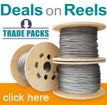 Trade Value Stainless Steel Wire Reels