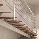 Staircase with Wire Infill, Norway