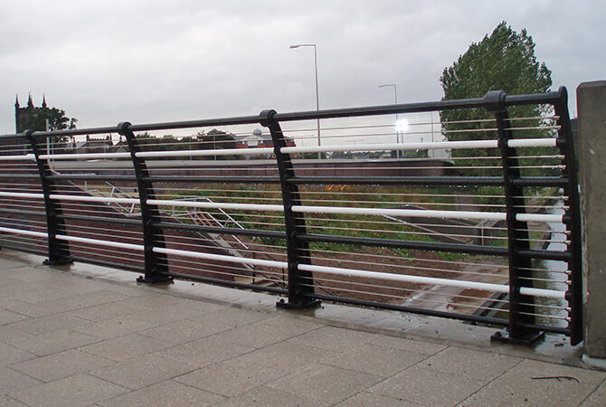Stainless Steel Footbridge Cables