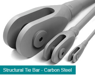 Carbon Steel Structural Tie Bars