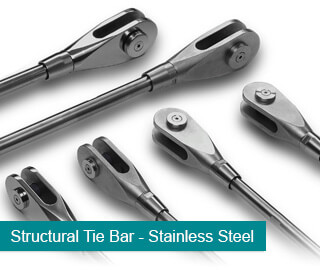 Stainless Steel Structural Tie Bars