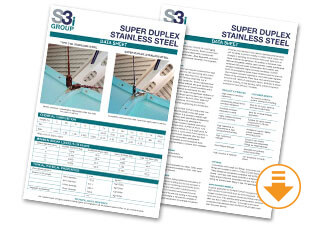 Super Duplex Stainless Steel Shackle information Sheet