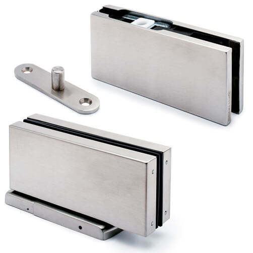 Glass Swing Door Patch Kit - Hydraulic Patch Fitting