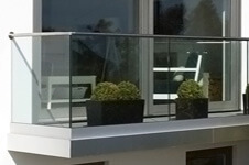 Top Mounting Profiles For Glass Channel Balustrade
