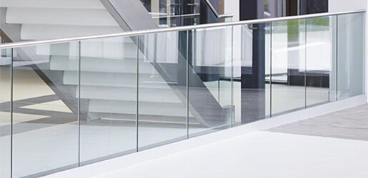 Frameless Top Mount Glass Balustrade