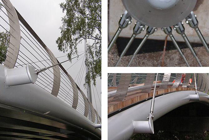 Stainless Steel Support Cables