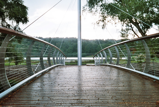 Trentham Gardens Footbridge
