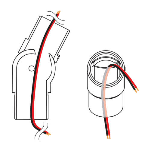 Tube Connector - Adjustable - Wiring