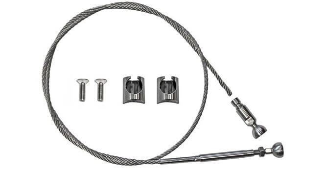 Tube Mount Wire Balustrade Kit