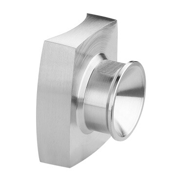 Tube Mounting Adapter - Stainless Steel