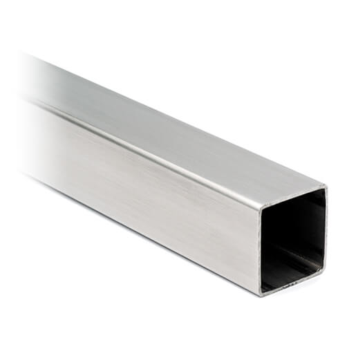 Stainless Steel Tube - 20mm x 20mm Square Profile