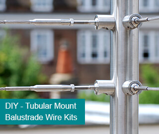 Wire Balustrade Kits and Cable Systems. Stainless Steel Wire ...