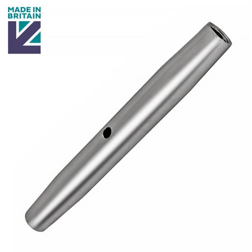 Turnbuckle Body with UNF Thread - Stainless Steel