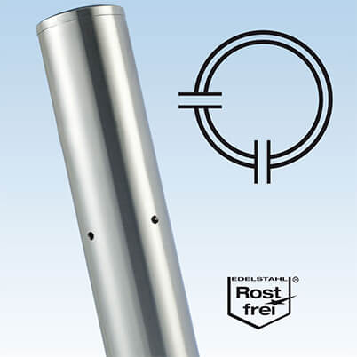 Ultra Stainless Steel Baluster Corner Post