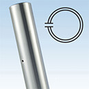Stainless Steel Balustrade End Post - Ultra Range, 42.4mm 2205 Grade - Ultra Balustrade System