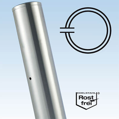 Ultra Stainless Steel Baluster End Post