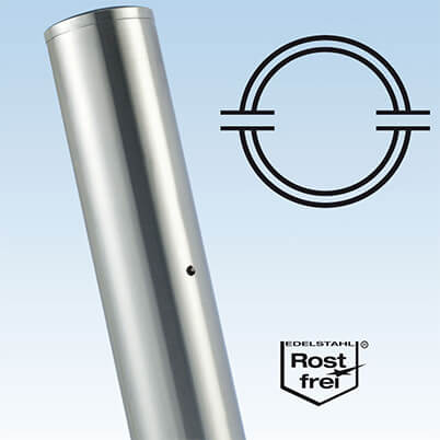 Ultra Stainless Steel Baluster Mid Post