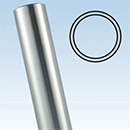 Stainless Steel Balustrade Plain Post - Ultra Range, 42.4mm 2205 Grade - Ultra Balustrade System