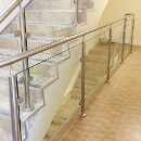 Uxbridge Residential Flats, Balustrade