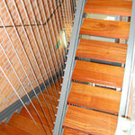 Vertical Mount Stainless Steel Balustrade Wire
