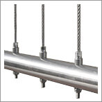 Vertical Wire Balustrade - Tube Mount