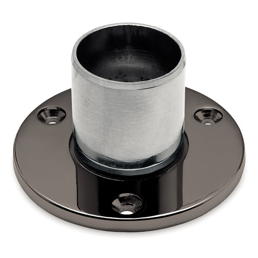 Wall/Floor Flange - Long Neck - Anthracite Finish