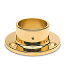 Wall & Floor Flange - Brass Finish