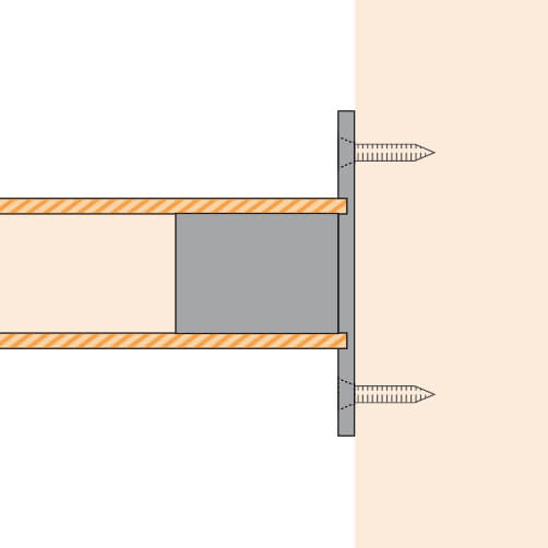 Wall/Floor Flange - Long Neck - Position