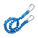 Wichard Safety Lanyard - Stainless Steel Carbine Hooks - Elastic