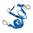 Wichard Safety Lanyard - Quick Opening Snap Shackle - Elastic/Flat
