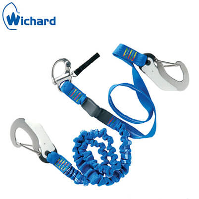 Safety Lanyard - Double Action Hook and QR Snap Shackle