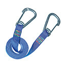 Wichard Safety Lanyard - Stainless Steel Carbine Hooks - Flat