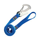 Wichard Safety Lanyard - One Double Action Hook - Flat Webbing
